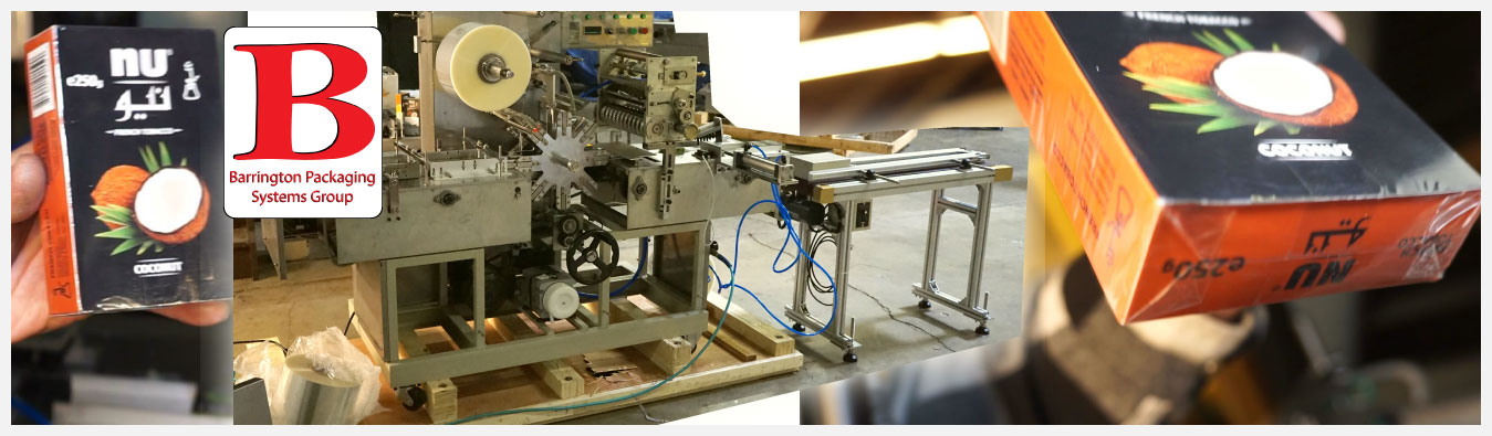 The BPS-Tuck and Fold Box Wraping Machine is an intuitive and economically smart investment.