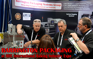 Barrington Packaging Systems Group (BPSG) brings you new packaging machinery for the price of used equipment using the economy of global manufacturing and the security of US quality control and service.