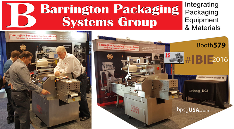 888-814-7999 X 1 Horizontal Flow Wrappers (HFFS), Vertical Form Fill and Seal (VFFS)  Barrington Packaging Systems Group